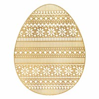 AMSCAN GOLDEN EGG PLACEMAT