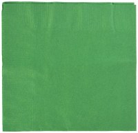 AMSCAN  GREEN LUNCHEON NAPKINS 50CT
