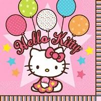 HELLO KITTY BALLOON DREAMS LUNCHEON NAPK