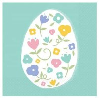 AMSCAN PRETTY PASTELS EASTER NAPKINS