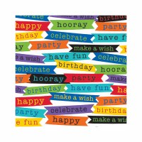 AMSCAN ROLL WRAP BIRTHDAY MESSAGES