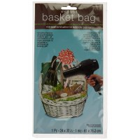 AMSCAN SHRINK WRAP BASKET BAG