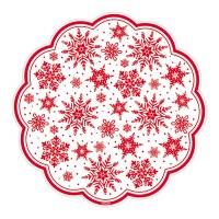 AMSCAN SNOWFLAKE DOILIES