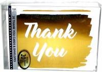 AMSCAN THANK YOU NOTES GOLDEN