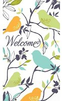AMSCAN WELCOME BIRDS GUEST TOWELS