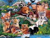 ANIMAL PLANET 100PC PUZZLE FOREST FRIEND