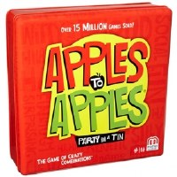 APPLES TO APPLES PARTY IN A TIN GAME