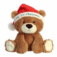 "AURORA 10"" MY FIRST CHRISTMAS BEAR"