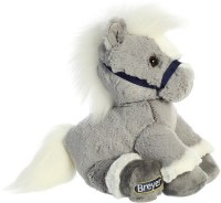 AURORA BREYER GREY HORSE PLUSH