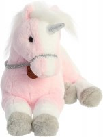 AURORA BREYER PINK UNICORN PLUSH