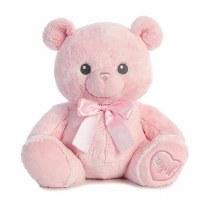 "AURORA LIL' GIRL PINK BEAR 16"""