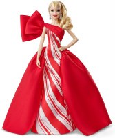 BARBIE 2019 HOLIDAY DOLL BLONDE