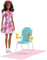 BARBIE BEACH CHAIR DOLL