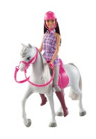 BARBIE & HORSE SET