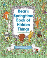 BEARS SPRINGTIME BOOK OF HIDDEN THINGS