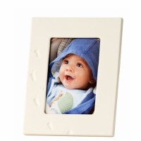 BELLEEK BABY GIRL   PHOTO FRAME