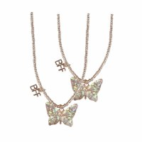 BFF BUTTERFLY TEAR & SHARE NECKLACE