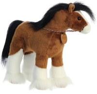 """BREYER 13"""" PLUSH CLYDESDALE HORSE"""