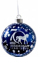 BREYER 2020 70TH ANNIV BALL ORNAMENT