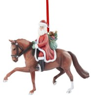 BREYER 2020 DRESSAGE SANTA ORNAM