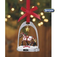 BREYER 2020 STIRRUP ORN YULETIDE GREET