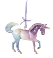 BREYER 2020 UNICORN ORNAM COSMO
