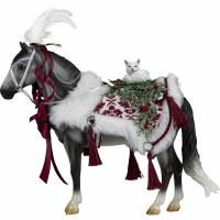 BREYER '21 HOLIDAY HORSE ARCTIC GRANDEUR
