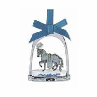 BREYER CELESTINE 2018 STIRRUP ORNAMENT