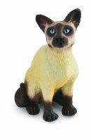 BREYER CORRAL PAL SIAMESE CAT SITTING