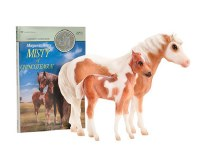 BREYER MISTY & STORM BOOK & MODEL