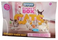 BREYER POCKET BOX CATS