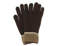 BRITT'S KNIT MEN'S GLOVES BROWN