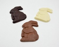 BROMILOW'S 3oz BUNNY W/CARROT DARK