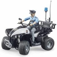 BRUDER BWORLD POLICE QUAD
