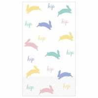 BUNNY GUEST TOWELS 16ct