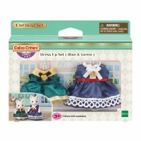 CALICO CRITTER TOWN DRESS UP BLUE/GREEN