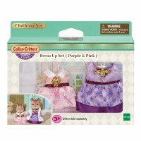 CALICO CRITTER TOWN DRESS UP PINK/PURPLE