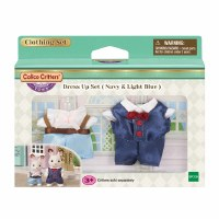 CALICO CRITTER TOWN DRESS UP SET NAVY/LT