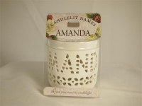 CANDLELIT NAMES     AMANDA
