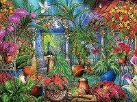 CEACO 1500pc PUZZLE TROPICAL GREENHOUSE