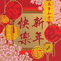 CHINESE NEW YEAR BLESSING NAPKINS 16CT