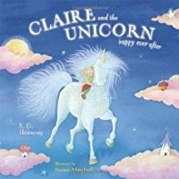CLAIRE AND THE UNICORN BOOK