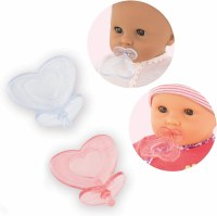 "COROLLE 12"" DOLL PACIFIERS SET/3"