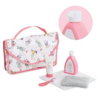 "COROLLE 14"" & 17"" DOLL BABY CARE SET"