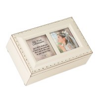 COTTAGE GARDEN MUSIC BOX COMMUNION GIRL