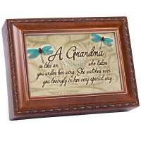 COTTAGE GARDEN MUSIC BOX GRANDMA ANGEL