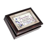 COTTAGE GARDEN MUSIC BOX GRANDMA DEAR