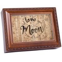 COTTAGE GARDEN MUSIC BOX LOVE YOU MOON