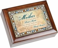 COTTAGE GARDEN MUSIC BOX MOTHER THE GIFT