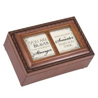 COTTAGE GARDEN MUSIC BOX YOU ARE BRAVER